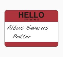 HELLO my name is...Albus Severus Potter! by loveaj