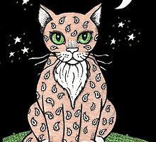 Paisley Puss by Anita Inverarity