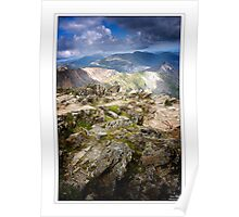 Snowdonia peak Poster
