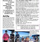 Winter 2011 Newsletter for the Newcastle/Hunter Dragonsabreast group for Winter 2011 pg 2 by KazM