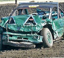 Demolition Derby Car by kodakcameragirl
