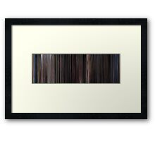 Moviebarcode: Back to the Future Part II (1989) Framed Print