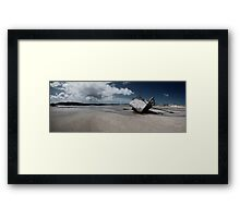 Boat on Donegal Shore, Ireland Framed Print