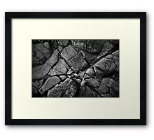 Seems Like There's a Hole In My Dreams Framed Print