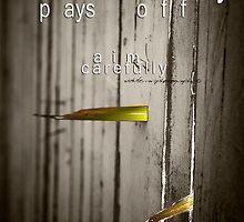 Tenacity Pays Off © Vicki Ferrari Photography by Vicki Ferrari