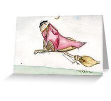 Canary Potter- Nerdy Birdy Harry Potter Greeting Card