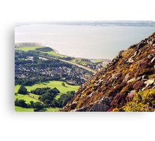 Above Llanfairfechan Canvas Print