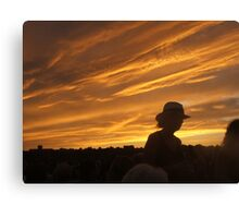 Fourth of July Sky Canvas Print