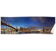 Bridges of New York Poster