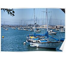 San Diego Harbor Poster