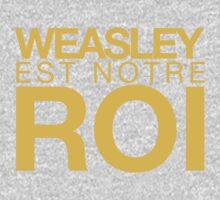 WEASLEY EST NOTRE ROI! Kids Tee