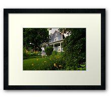 House Full of Memories Framed Print