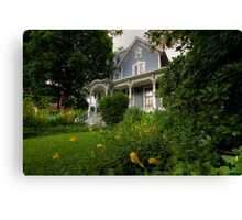 House Full of Memories Canvas Print