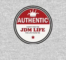 Authentic jdm life found me badge - red Unisex T-Shirt