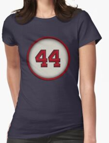 44 - Hammerin Hank Womens Fitted T-Shirt