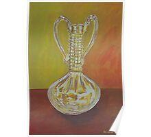 Glass vase Poster