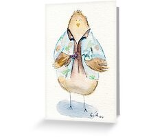 Hoban Washbird- Firefly Nerdy Birdy Greeting Card