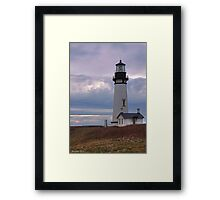 Yaquina Head HDR Framed Print