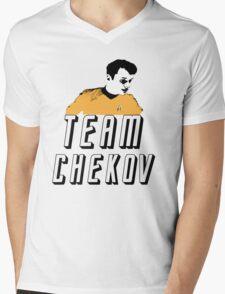 Team Chekov Mens V-Neck T-Shirt