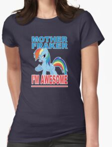 Fraking Awesomeness, etc Womens Fitted T-Shirt