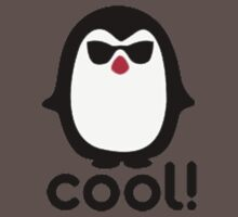Cool Penguin Baby Tee