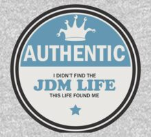 Authentic jdm life found me badge - Light blue by TswizzleEG