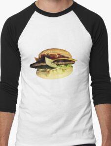 BurgerBurger Men's Baseball ¾ T-Shirt
