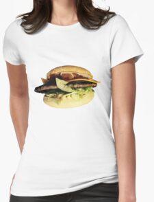 BurgerBurger Womens Fitted T-Shirt