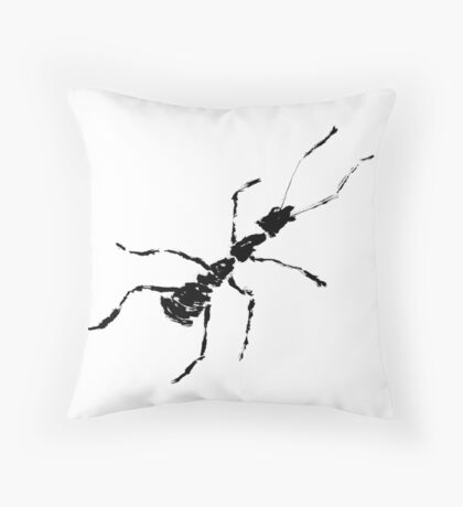 haiga IV  Throw Pillow