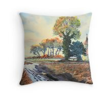 The Enigmatic Eleanor Rigby Throw Pillow