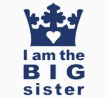 I Am The Big Sister Kids Tee