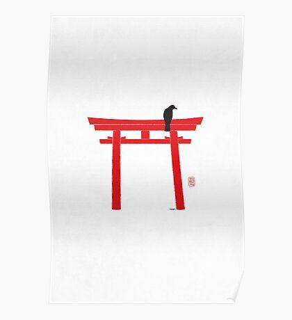 Torii 鳥居 Poster