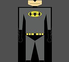 Cartoon Batman by WrnrG