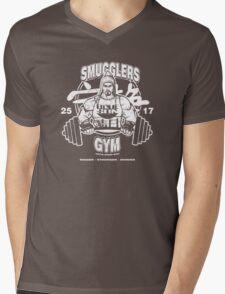 Smugglers Gym Mens V-Neck T-Shirt