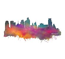 Minneapolis skyline Photographic Print