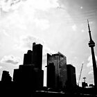 Toronto City Scape by Jason Dymock Photography