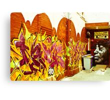 Street Art Toronto Canvas Print