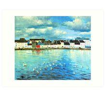 The Claddagh, Galway City Art Print