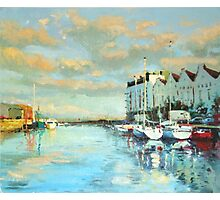 Summer Evening, Galway Harbour Photographic Print