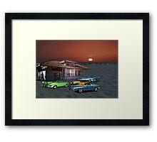 Beach Club Framed Print