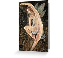Summers eve dancing fairy Greeting Card