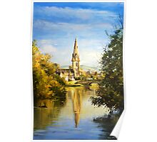 St. Muredach's Cathedral Spire, Ballina, Co. Mayo Poster