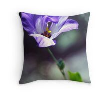 Mood Indigo Throw Pillow