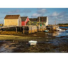Blue Rocks, Nova Scotia Photographic Print