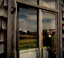 Barn Window by PPPhotoArt