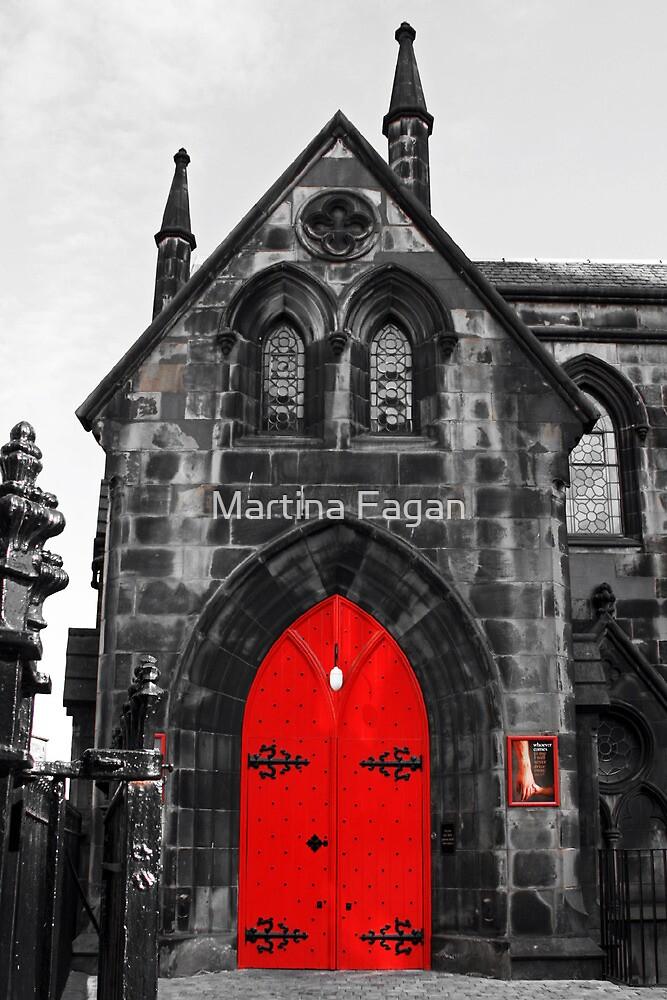 Edinburgh Door by Martina Fagan