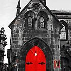 Edinburgh Door by Martina Fagan