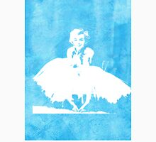 Marilyn Monroe Watercolour White Dress Blue  Unisex T-Shirt