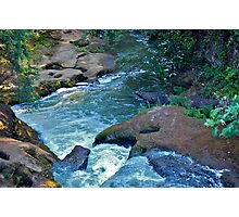 Lacamas Creek, Camas, WA - Potholes Photographic Print