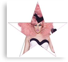 Adore Delano Drag Star Canvas Print